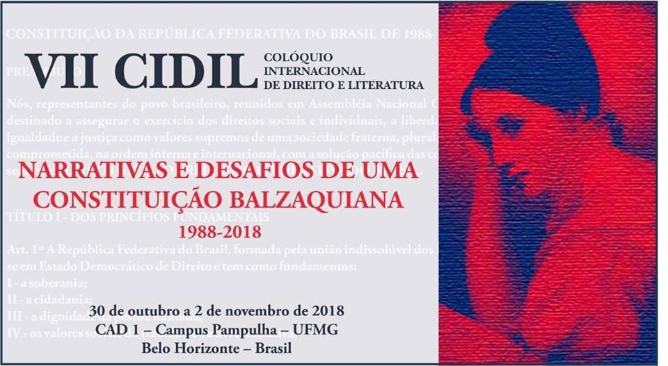 Lenio Streck convida para VII CIDIL Colóquio Internacional de Direito e Literatura em BH/MG!