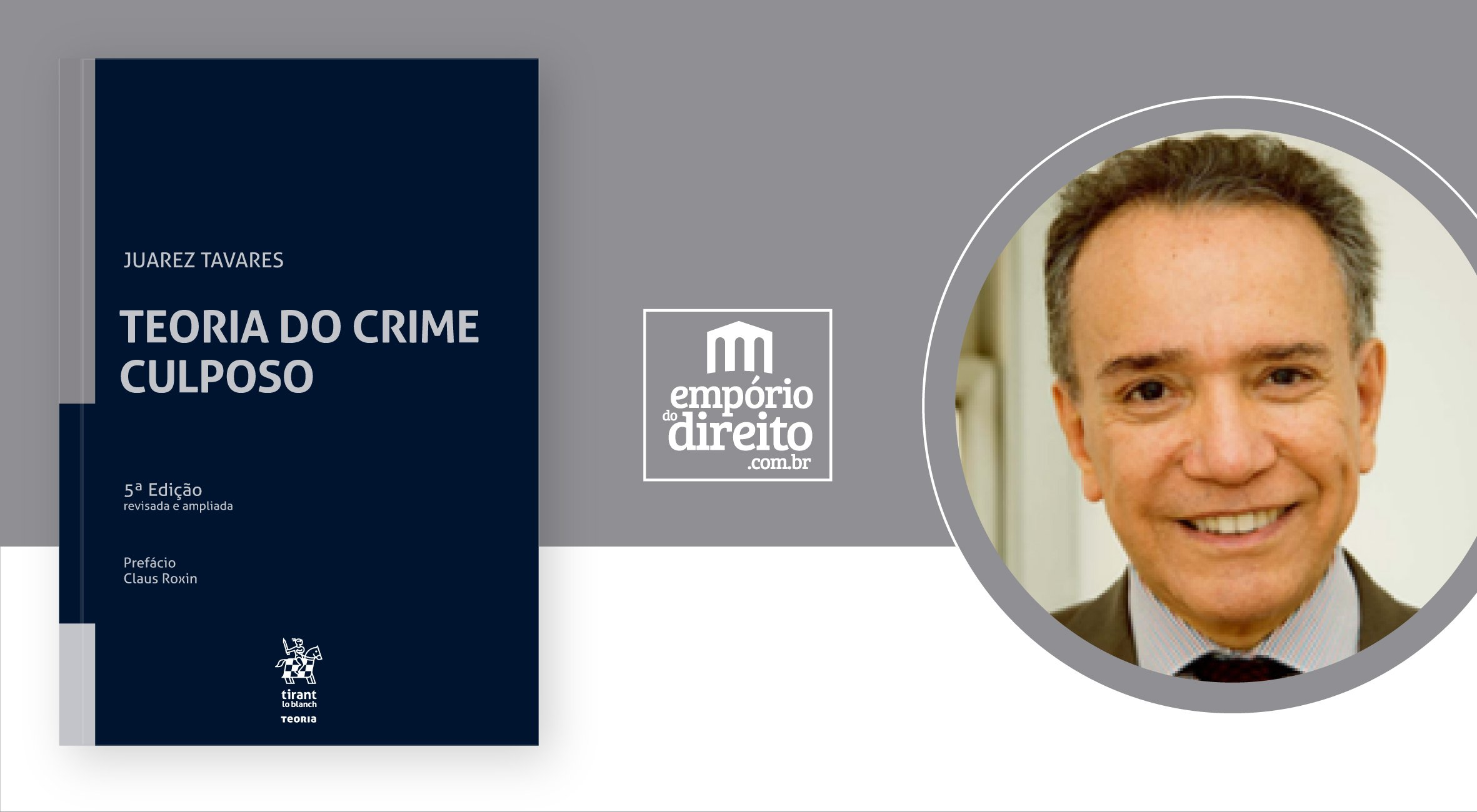 Teoria do Crime Culposo - #livrododia