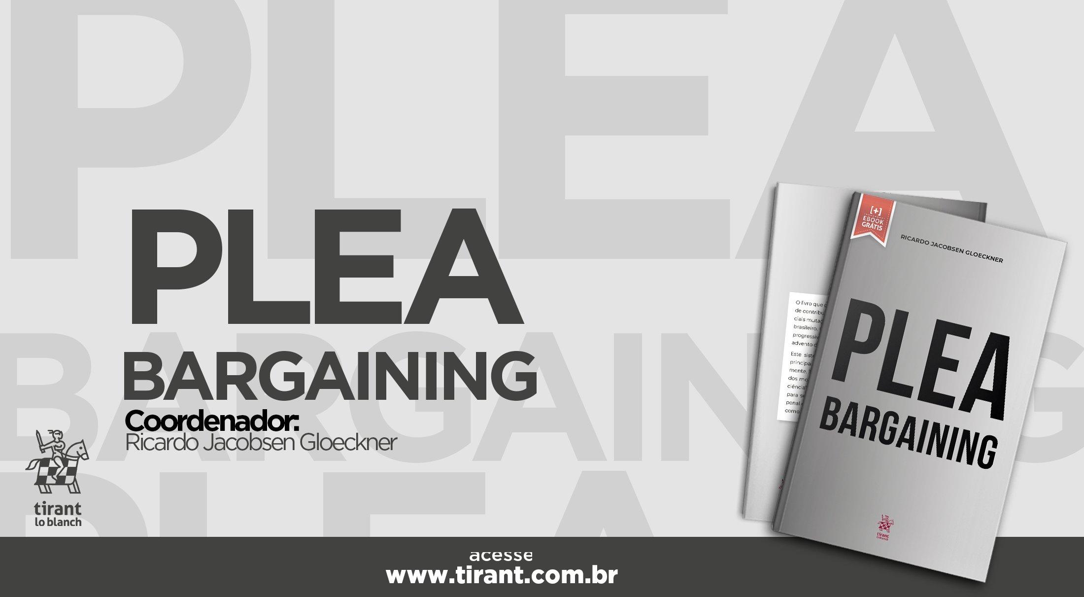 Plea Bargaining - #livrododia
